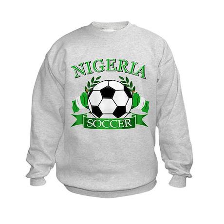Nigeria Football Kids Sweatshirt