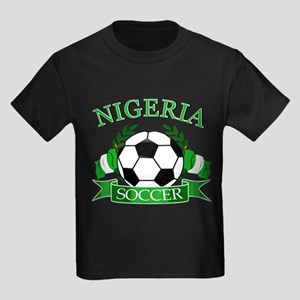 Nigeria Football Kids Dark T-Shirt