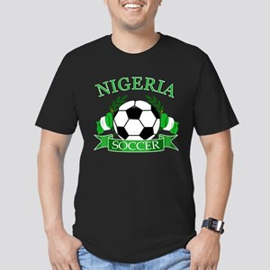 Nigeria Football Men's Fitted T-Shirt (dark)
