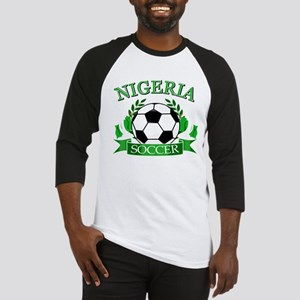 Nigeria Football Baseball Jersey