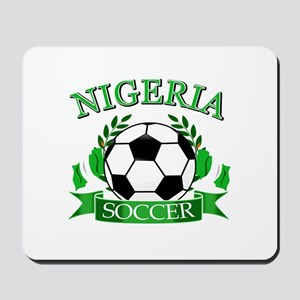 Nigeria Football Mousepad