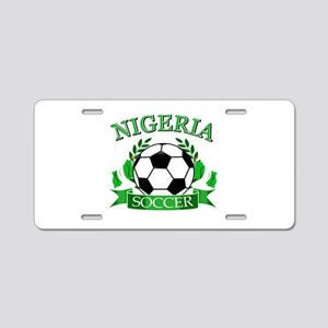 Nigeria Football Aluminum License Plate