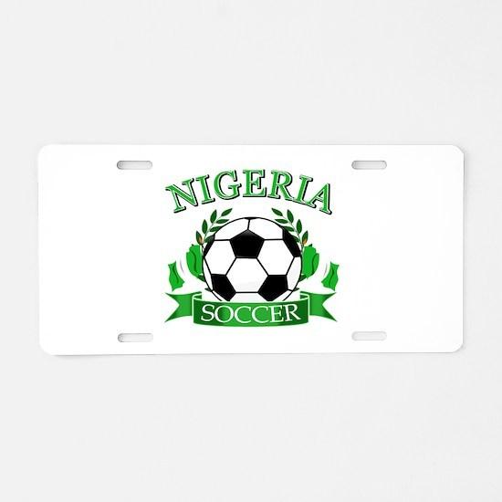 Nigeria Football Aluminum License Plate