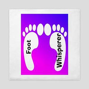 foot whisperer 2 Queen Duvet