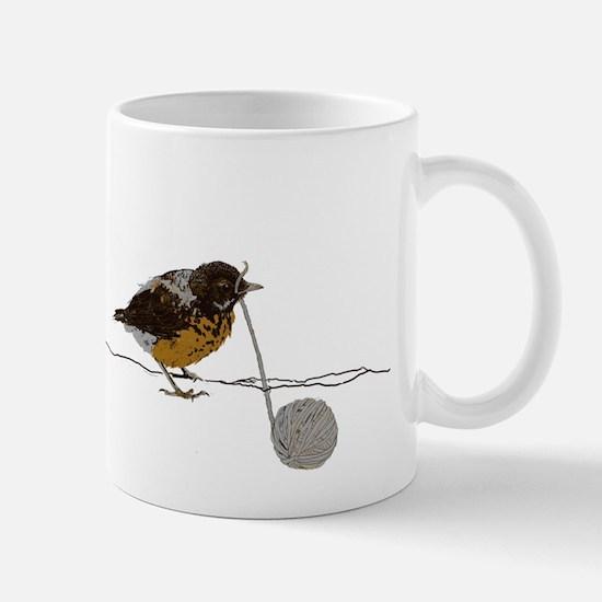 Cute Baby robin Mug