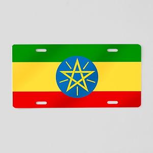 Ethiopian Flag Aluminum License Plate