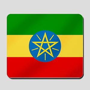Ethiopian Flag Mousepad