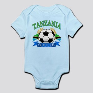 Tanzania Football Infant Bodysuit