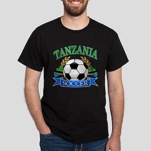 Tanzania Football Dark T-Shirt