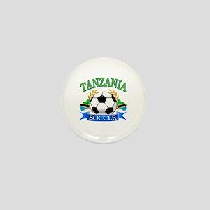 Tanzania Football Mini Button