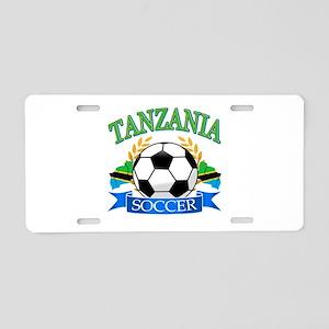 Tanzania Football Aluminum License Plate