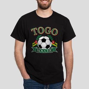 Togo Football Dark T-Shirt