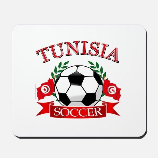 Tunisia Football Mousepad