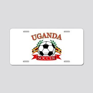 Uganda Football Aluminum License Plate