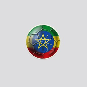 Ethiopia Football Mini Button
