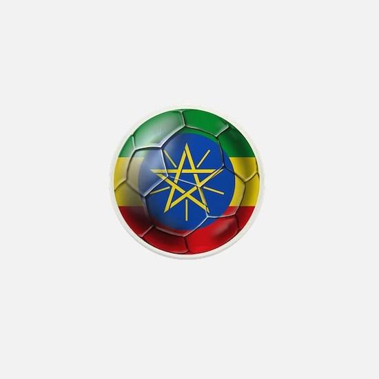 Ethiopia Football Mini Button