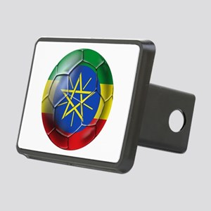 Ethiopia Football Rectangular Hitch Cover