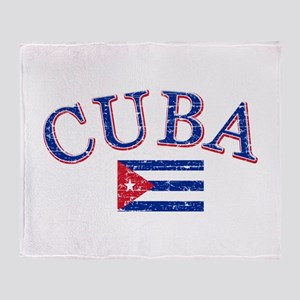 Cuba Football Throw Blanket