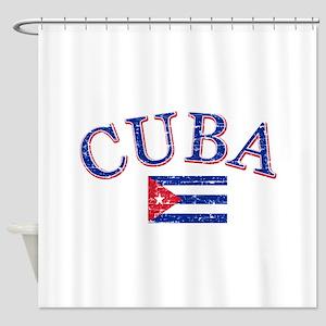 Cuba Football Shower Curtain