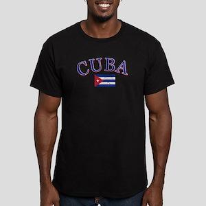 Cuba Football Men's Fitted T-Shirt (dark)