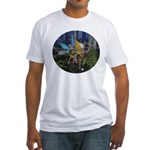 FairyDance Fitted T-Shirt