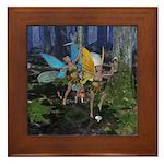 FairyDance Framed Tile