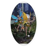 FairyDance Oval Sticker