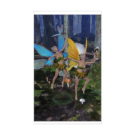FairyDance Rectangle Sticker