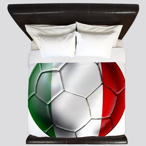 Italy Italia Football King Duvet