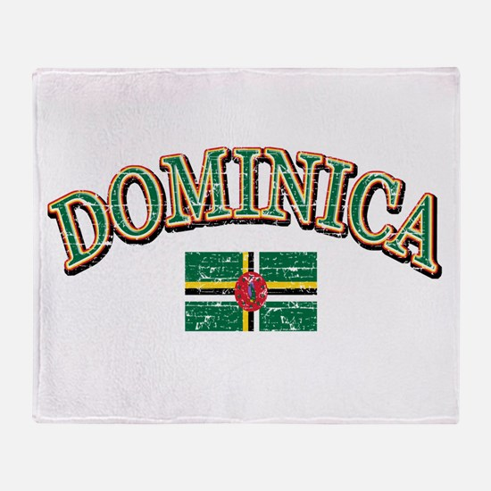Dominica Football Throw Blanket