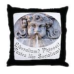Liberalism? Phtoooi! Throw Pillow