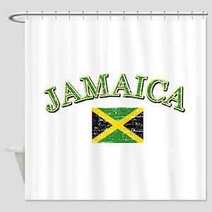 Jamaica Football Shower Curtain