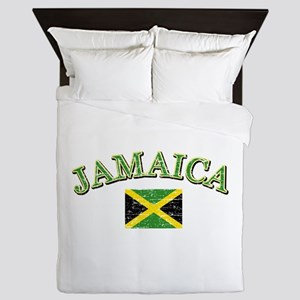 Jamaica Football Queen Duvet