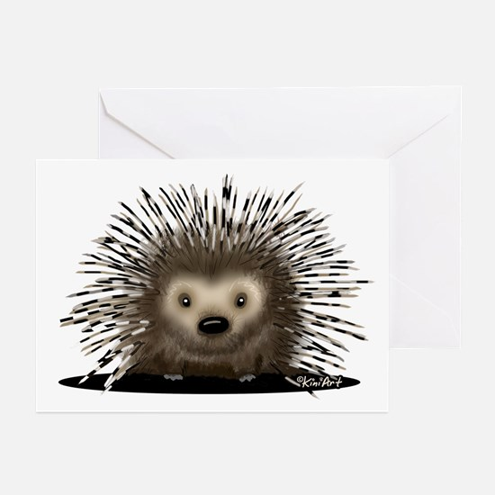 Porcupine Greeting Cards (Pk of 10)