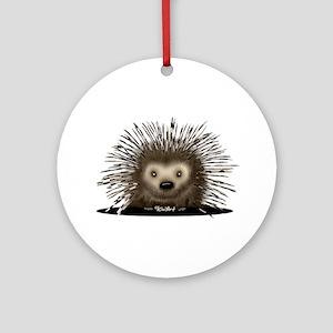 Porcupine Ornament (Round)
