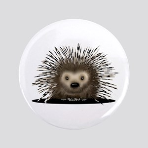 "Porcupine 3.5"" Button"