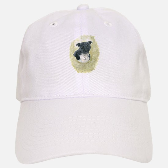 Stafforshire Bull Terrier Baseball Baseball Cap