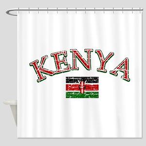 Kenya Football Shower Curtain