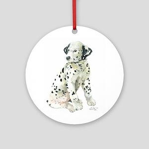 Dalmation Ornament (Round)