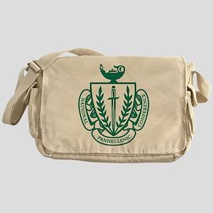 NPC Coat of Arms Messenger Bag
