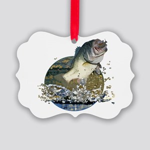 Largemouth Bass Picture Ornament
