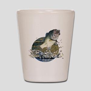 Largemouth Bass Shot Glass