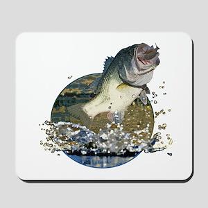 Largemouth Bass Mousepad