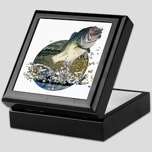 Largemouth Bass Keepsake Box