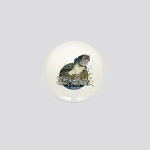 Largemouth Bass Mini Button
