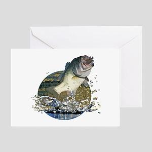 Largemouth Bass Greeting Card
