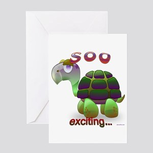 Soo Exciting... Greeting Card