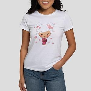 cherry blossom girl copy Women's T-Shirt