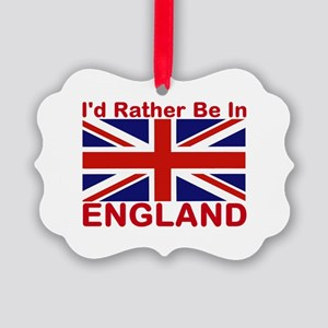 England Lover Picture Ornament
