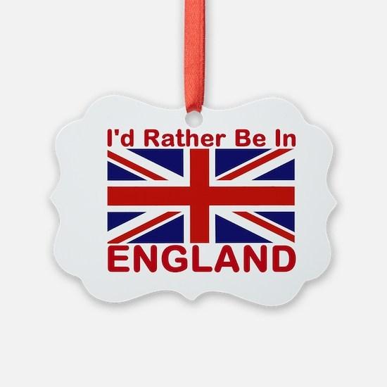 England Lover Ornament